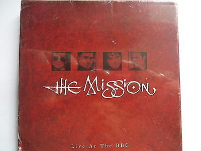 The Mission - Live At The BBC Rare 3 Disc Box, Still Sealed