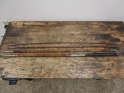 VINTAGE 4PC SPLIT BAMBOO FLY ROD- Unknown Maker