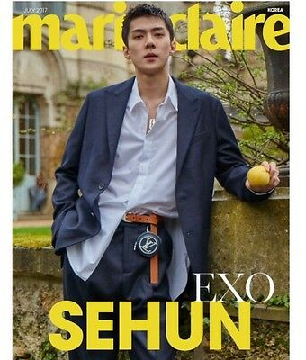 [Marie Claire Magazine] Korea July 2017 EXO Sehun Cuttings12P+Cover/ Interview