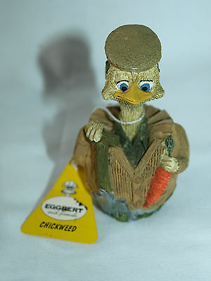Eggbert, collectors piece  by MALCOLM BOWMER, Chickweed