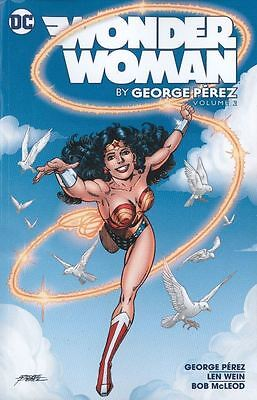 Wonder Woman By George Perez Vol 2 Tpb Graphic Novel New