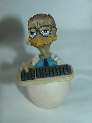Eggbert, collectors piece  by MALCOLM BOWMER, Silicon Chick EG23