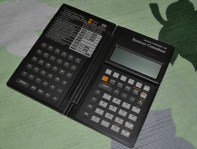 Calcolatrice Hp 18C 18 C Business consultant - Scientific Calculator - Vintage
