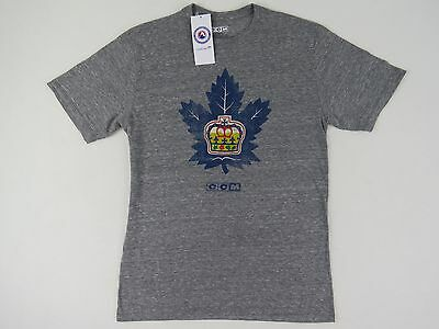 New! CCM Team Issued Toronto Marlies AHL Pro Stock Hockey Player Gym T Shirt S