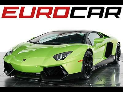 2012 Lamborghini Aventador LP 700-4 2012 Lamborghini Aventador LP 700-4 Coupe - Stunning Paint In Verde Ithaca!