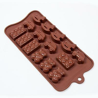 Fat Daddios Chocolate Mould - Silicone - Toys