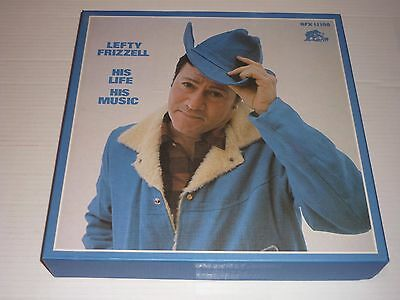 Lefty Frizzell His Life His Music 14 LP Bear Family 1984 Box Set
