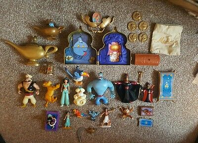 MASSIVE VINTAGE Aladdin Toy Collection. Great Condition. Great Collection.