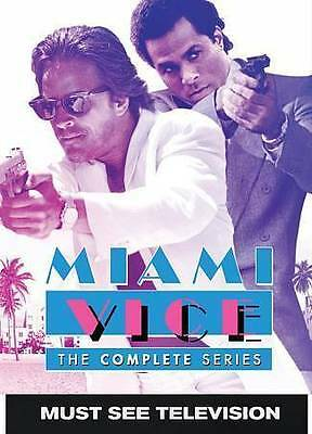 Miami Vice: The Complete Series (DVD,2016, 20-Disc Set) NEW Seasons 1 2 3 4 5