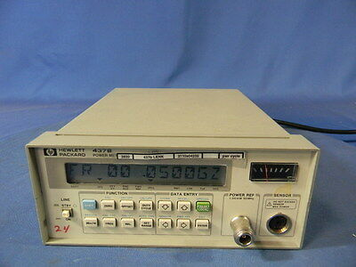 Agilent 437B RF Power Meter, 100 kHz to 110 GHz
