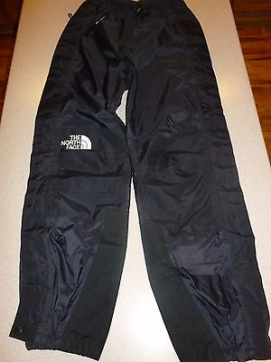 THE NORTH FACE Gore-Tex Pants Black Waterproof Hiking Outdoors Womens S Small
