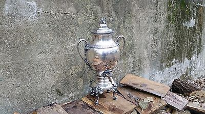 Vintage Reed & Barton Silverplate Coffee Urn