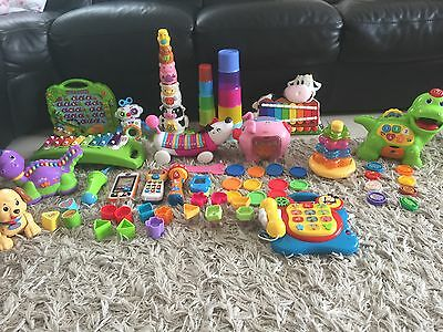 Bundle Of Baby Toddler Toys Fisher Price Vtech Leap Frog Disney Must Go Asap