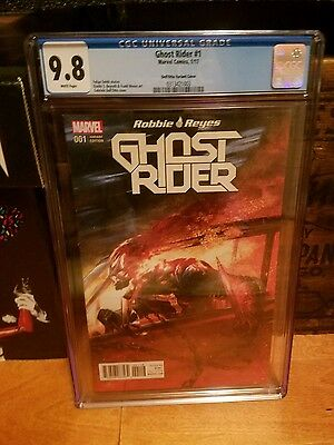 Ghost Rider #1 (2017) [Gabriele Dell'Otto Color Variant]  CGC 9.8