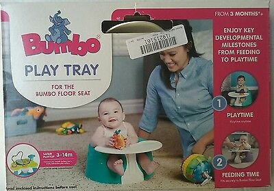 Bumbo Play Tray Feeding Tray and Play Surface for Bumbo Floor Seat