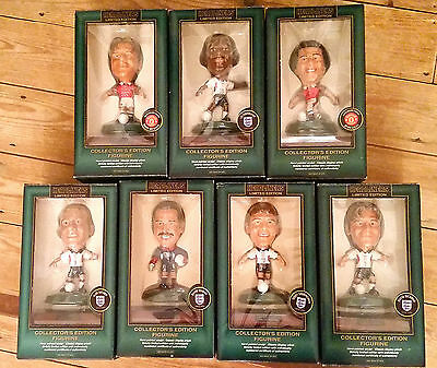 Headliners Limited Edition Figures - New in Box - Collectors Edition - Football