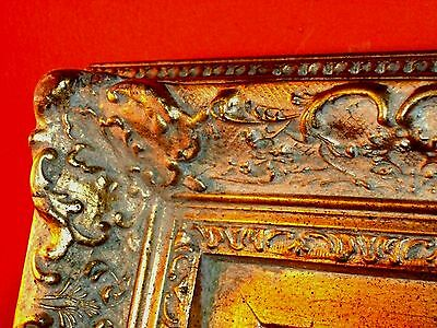 SUPERB LARGE VINTAGE Mirror in French Baroque Hollywood Golden Ornate RARE FRAME