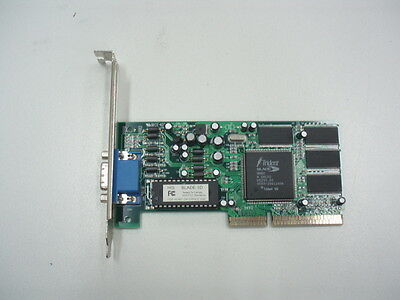 Vinatge Trident Blade 3D AGP Video Card
