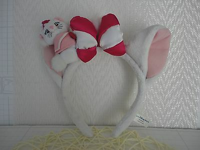 TOKYO DISNEY RESORT Headband MARIE Aristocat Plush Costume stuffed animal
