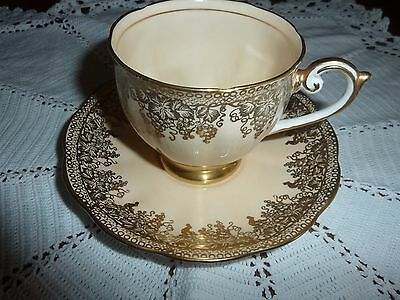 Vintage  cup and saucer 'Bell' fine bone china made in england