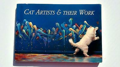 Cat Artists & Their Work Heather Busch 1994 each page is postcard