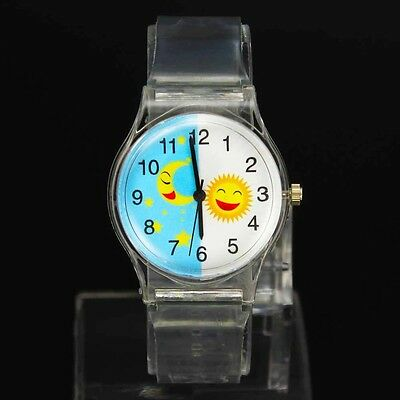 Moon & Stars And Happy Sun Watch For Kids