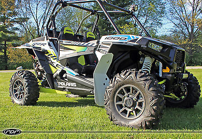 Proven Design Products Mud Flap kit for Polaris XL XXL Fenders RZR XP 1000   RED