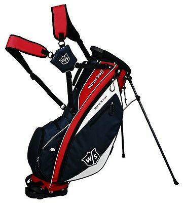 Callaway Hyperlite 5 Stand Golf Bag - Red/white - New - Value Plus!