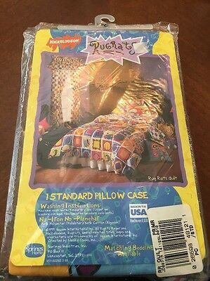 Nickelodean Rugrats 1999 pillow case By Klasky Csupo Made In USA