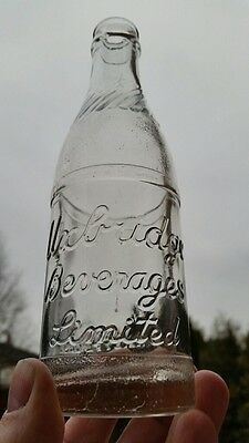 Uxbridge Ontario Embossed Soda Pop Bottle Canadian