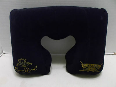 Crown Royal - Chivas Regal Travel Neck Pillow With Case Rare & Hard To Find NIB