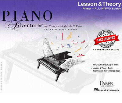Piano Adventures All In Two Primer Lesson Theory ***Brand New***