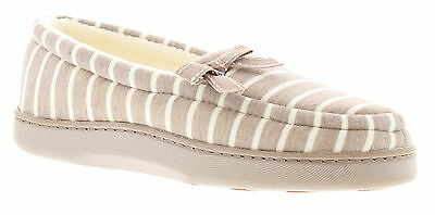 New Ladies/Womens Beige/Cream Full Slippers With Bow Detail UK SIZES