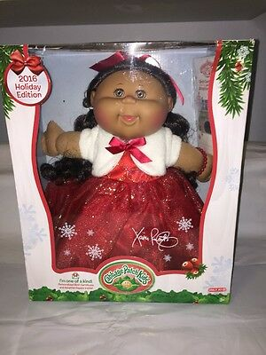 Cabbage Patch Kids 2016 Holiday Edition Doll Red Dress Target Exclusive NEW!