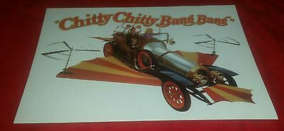Chitty Chitty Bang Bang - Old Movie Post Card - Good Condition  Printed in Spain