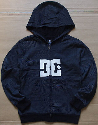 DC Boys Zip Up Fleece Hoodie Jumper sz S M L 8/10 12/14 16 New with Defects