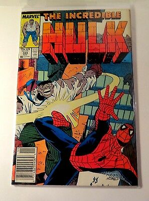 The Incredible Hulk #349 Marvel Comics Copper Age  CB2069