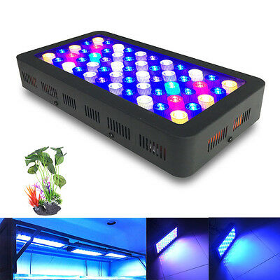 Dimmable 110W led aquarium lamp for Fish tanks Marine plants Growth lights
