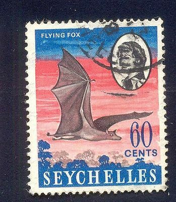 Seychelles 60C Used Stamp A14880 Flying Fox Animal