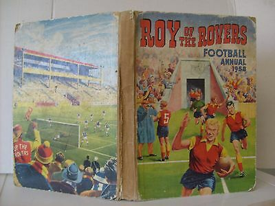 Roy Of The Rovers Football Annual 1958.acceptable Condition.