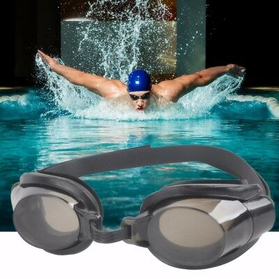 Adult Anti Fog UV Protection Swimming Goggles Glasses+Earplugs+Noseclip Kit