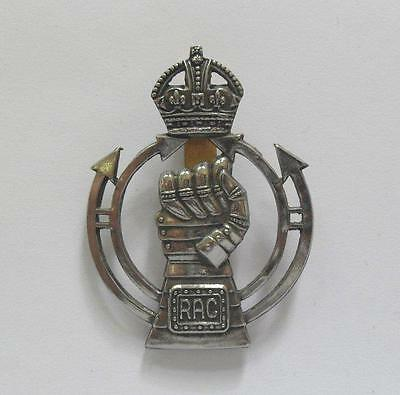 British Army Cap Badge. Royal Armoured Corps. ( 001. )