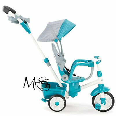 Little Tikes 4 in 1 Perfect Fit Trike in Teal   *   Brand New
