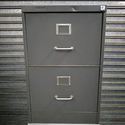 2X Drawers Filing Cabinet