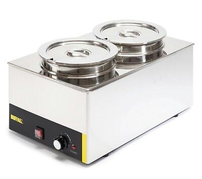 Commercial electric Buffalo Wet 2 round pot, Donner kebab, Bain Marie.Brand New.