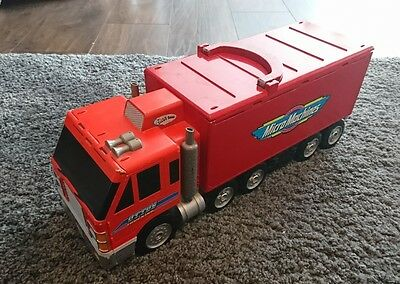 Micro Machines Otto's Truck Fold Out Play Set 1998 Galoob Toys