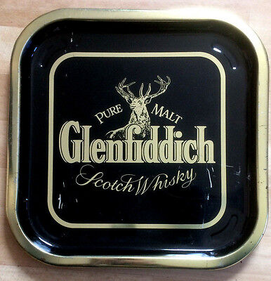 Original schottisches Glenfiddich Tablett v.d. Glenfiddich Distillerie  30 Jahre
