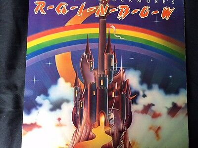 Ritchie Blackmores Rainbow - 1St Press Lp A1/b1 - On Oyster Vault Copy! Nm/nm