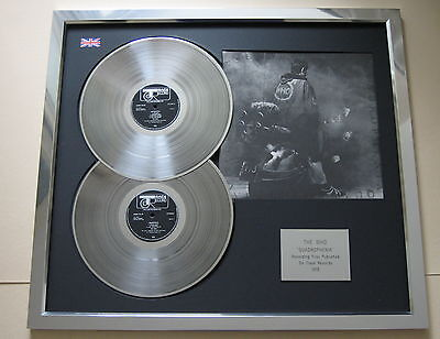 THE WHO Quadrophenia PLATINUM DOUBLE LP Disc & Cover Presentation