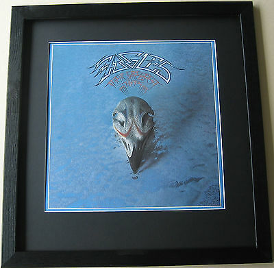 EAGLES Their Greatest Hits 1971-1975 FRAMED ALBUM COVER